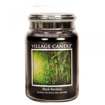 Village Candle Tradition 602g - Black Bamboo