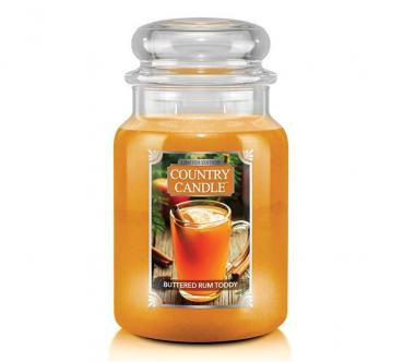 Country Candle 652g - Buttered Rum Toddy
