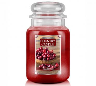 Country Candle 652g - Cranberries