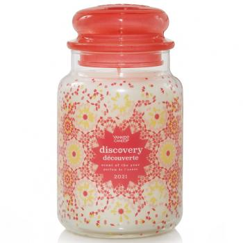 Yankee Candle 623g - Duft des Jahres 2021: Discovery - Housewarmer Duftkerze großes Glas