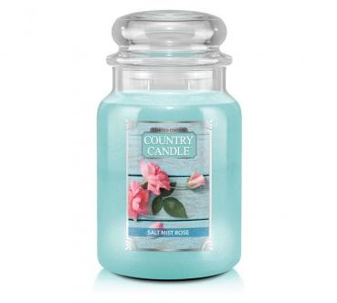 Country Candle 652g - Salt Mist Rose