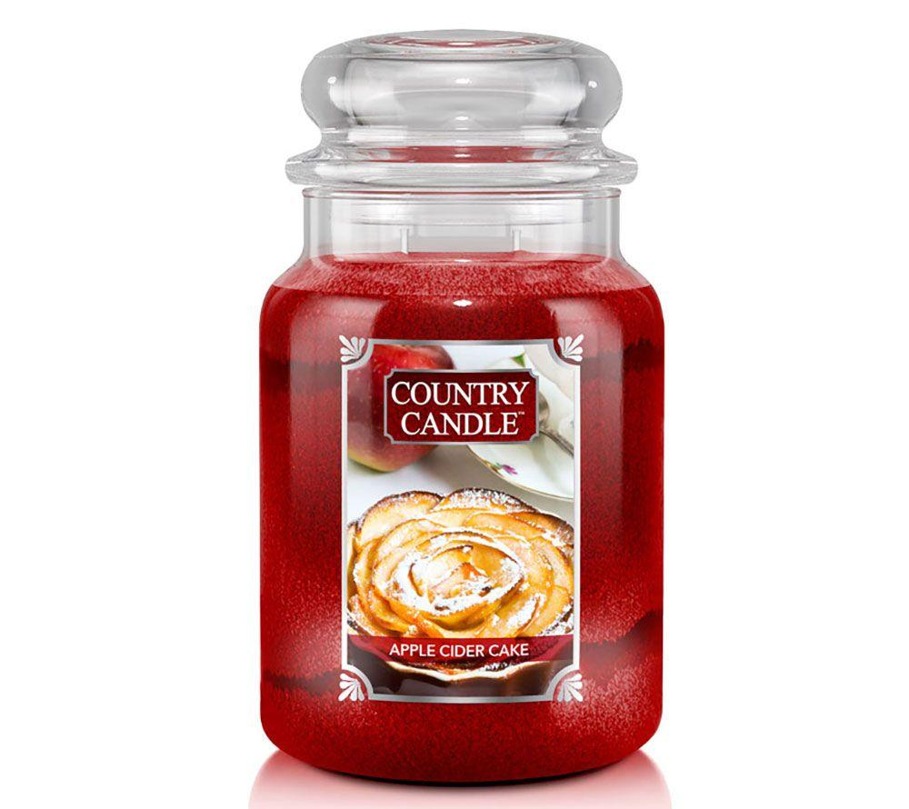 Country Candle 652g - Apple Cider Cake