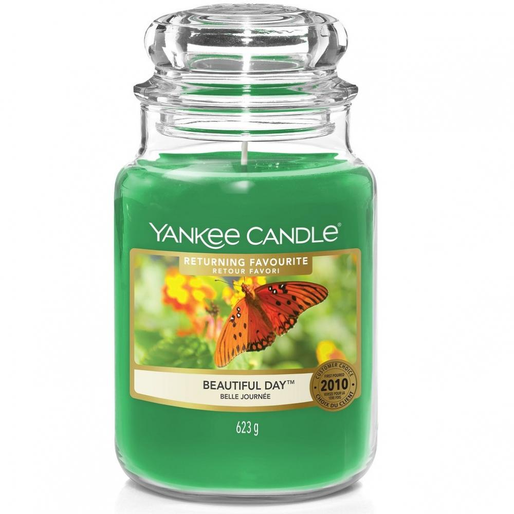 Yankee Candle 623g - Beautiful Day - Housewarmer Duftkerze großes Glas